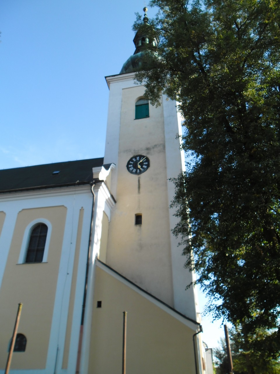 kostel před1