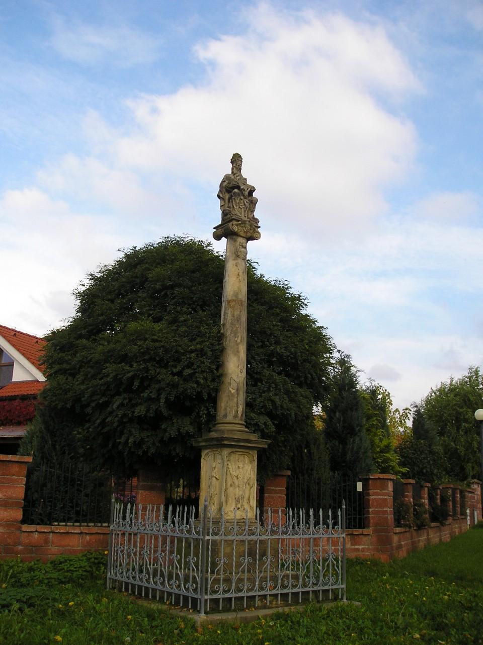 kříž u ZŠ I.